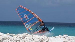 Taty Frans - slalomowe Bonaire