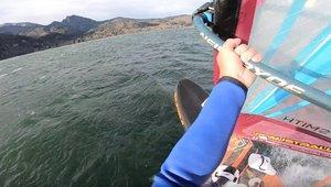 Föhnstorm windsurfing Kochelsee