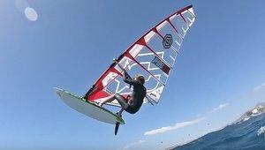 Slalom and wave windsurfing