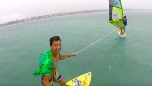 Foilowy hol za windsurferem