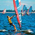 Gosia Białecka w windsurfingowym raju