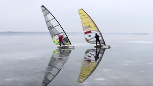 co to jest windsurfing lodowy