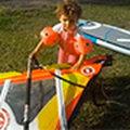 2 lata i już na windsurfingu!