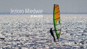 Miedwie Windsurfing - 07.04.2018