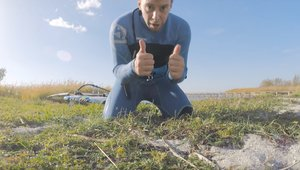 Windsurfing 40 węzłów na Miedwiu!