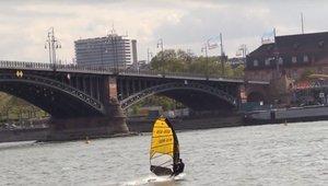 Windsurfing under the Bridge