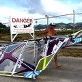 Windsurfing za Boeingiem