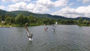 Windsurfing na Jeziorze Bielawskim