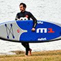 Mistral M1 - pierwsze na świecie dmuchane SUP'y race