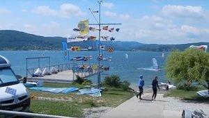 Windsurfing na Jeziorze Domasa