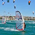 Bernd Flessner wygrał największe zawody kitesurfingowe świata. Na windsurfingu.