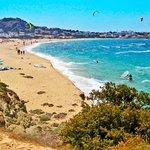 Windsurfing i kitesurfing na Naxos