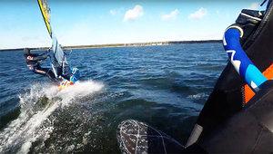 Pierwsze ślizgi na Zatoce Puckiej