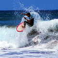 Pierwszy dzieńWavecampu na surfie