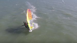 Windsurf Tandem: Julien and Camille Bouyer